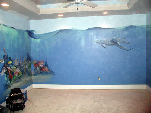murals under the sea online get cheap ocean wall murals aliexpress com